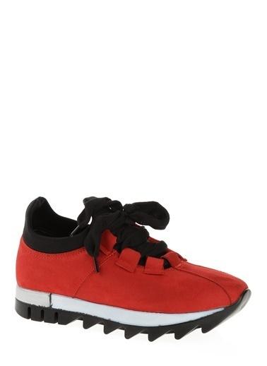 Derigo Bağcıklı Ayakkabı Kırmızı